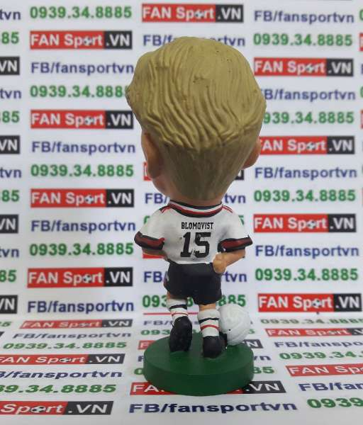 Tượng Blomqvist Manchester United 1997-1999 away corinthian PRO067