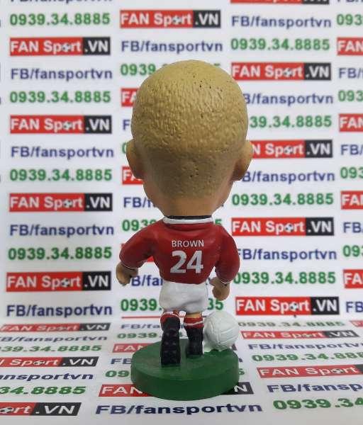 Tượng Wes Brown Manchester United 2000-2002 home corinthian PRO468