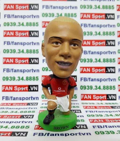 Tượng Wes Brown Manchester United 2002-2004 home - Fan Favorite FF007
