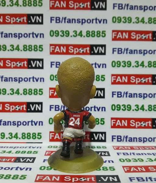 Tượng Wes Brown Manchester United 2002-2004 home - microstars MC1683