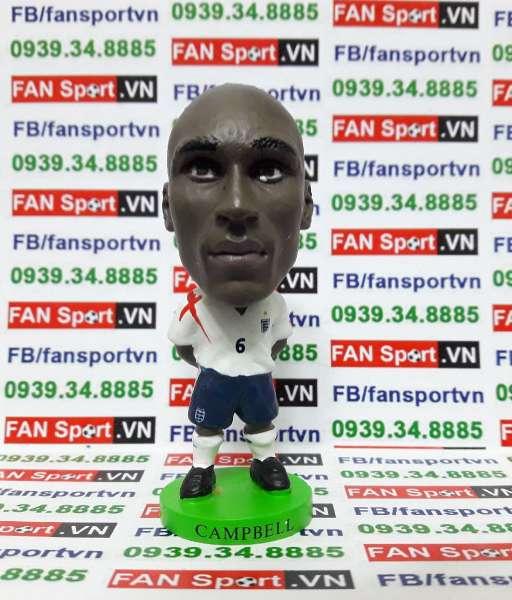 Tượng Sol Campbell England 2005-2007 home prostar fan favorites PR101
