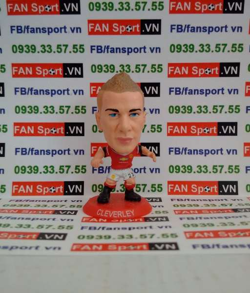 Tượng Tom Cleverley Manchester United 2014-2015 home - soccerstarz