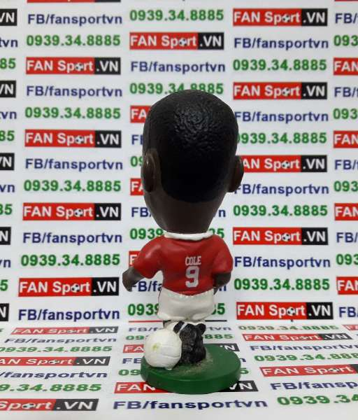 Tượng Andy Cole Manchester United 1996-1998 home - corinthian