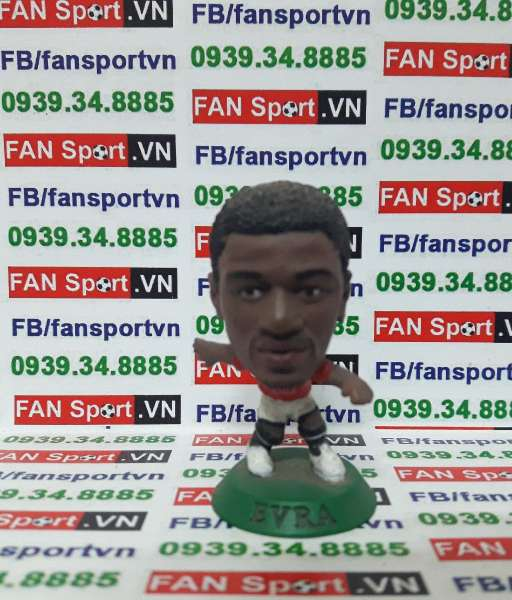 Tượng Patrice Evra Manchester United 20072009 home microstar MC11925