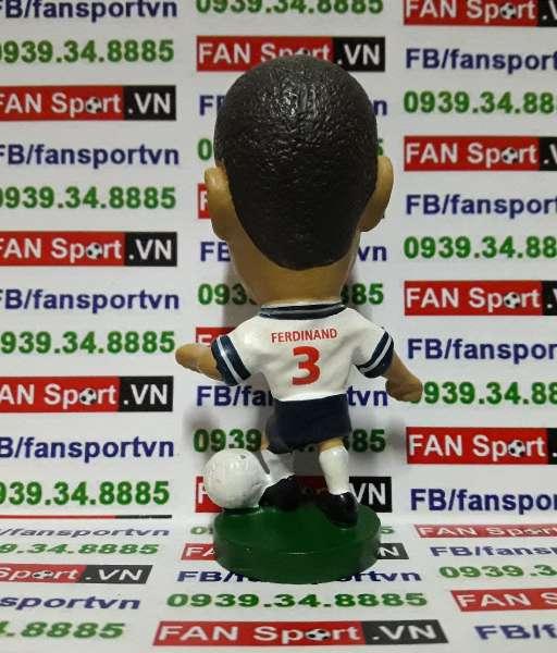 Tượng Rio Ferdinand England 1999-2001 home - corinthian PRO192