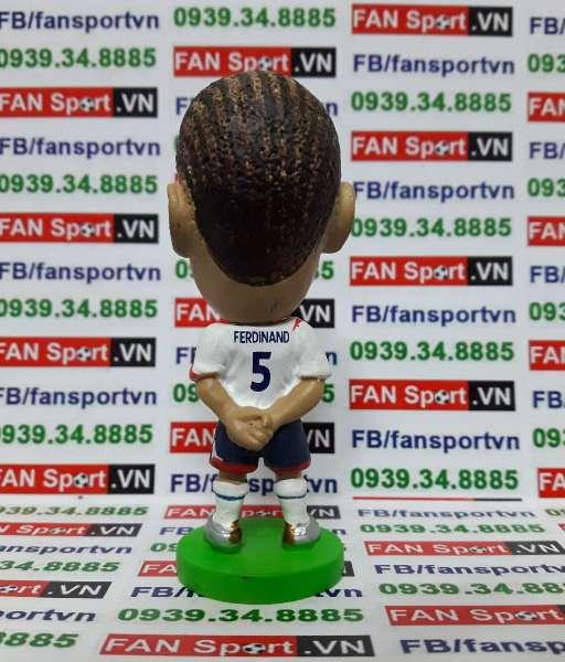 Tượng Rio Ferdinand England 2005-2007 home prostar fan favorites PR100