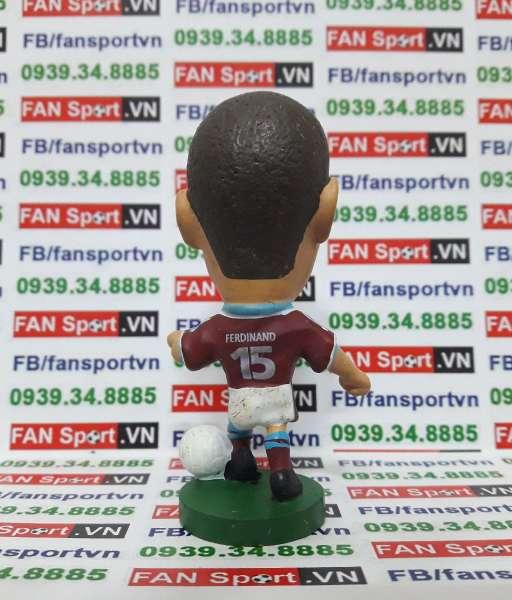 Tượng Rio Ferdinand West Ham 1999-2001 home corinthian PO053
