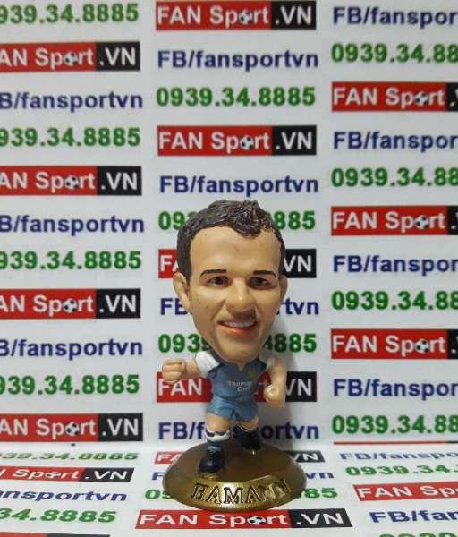 Tượng Dietmar Hamann Manchester City 2006-2007 home - microstar MC9912