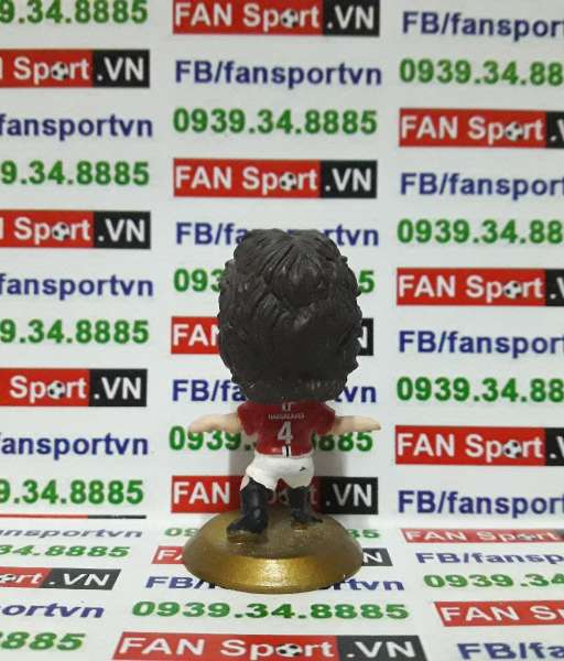 Tượng Owen Hargreaves Manchester United 2007-2009 home - microstars