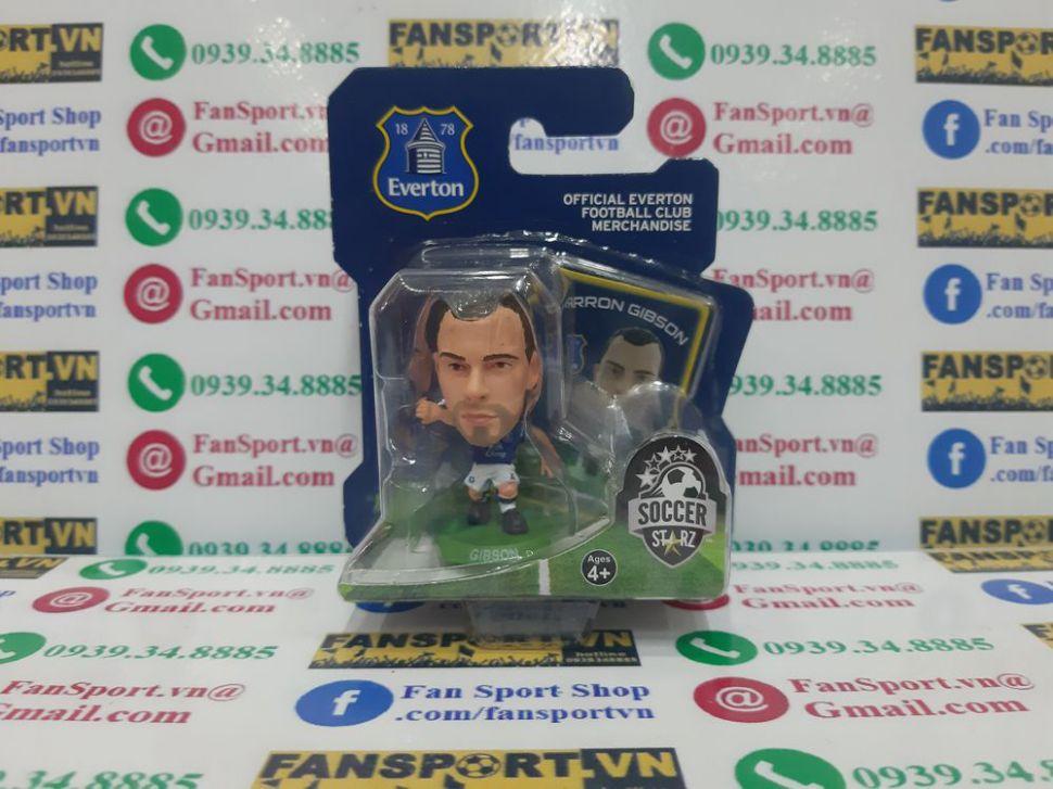 Tượng Darron Gibson #4 Everton 2013-2014 home soccerstarz figure