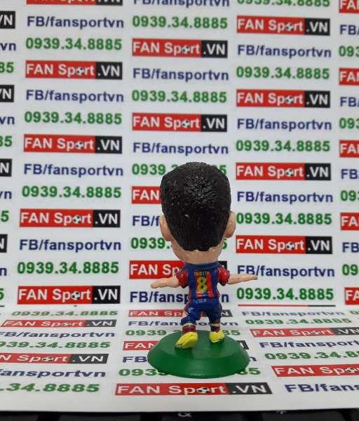 Tượng Andres Iniesta Barcelona 2009-2010 home - microstar MC12475