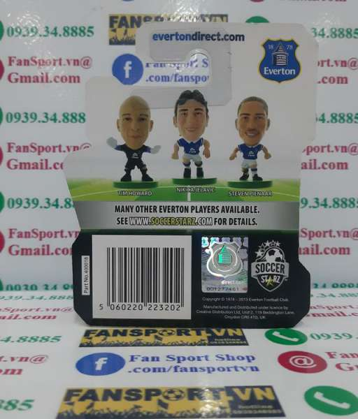 Tượng Tim Howard #24 Everton 2013-2014 home soccerstarz figure