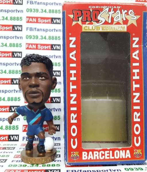Tượng Patrick Kluivert Barcelona 2002-2004 away - corinthian CG194