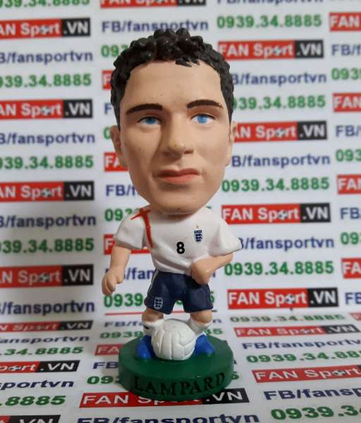 Tượng Frank Lampard England 2005-2007 home - corinthian PR117