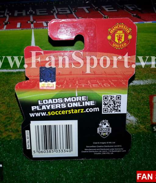 Tượng Phil Jones Manchester United 2014-2015 home - soccerstarz