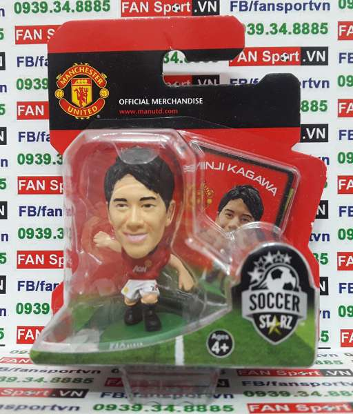 Tượng Shinji Kagawa Manchester United 2013-2014 home - soccerstarz