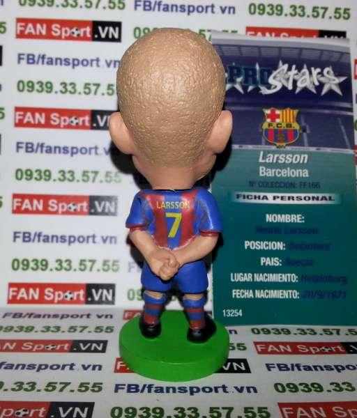 Tượng Henrik Larsson Barcelona 2004-2005 home prostars Fan Favourite