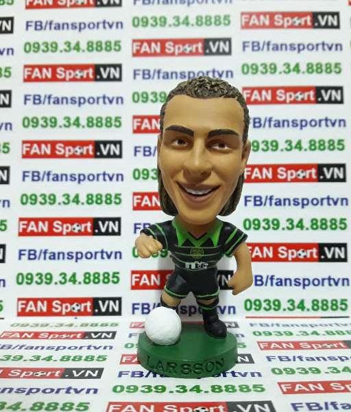 Tượng Henrik Larsson Celtic 1999-2000 away - corinthian PRO259