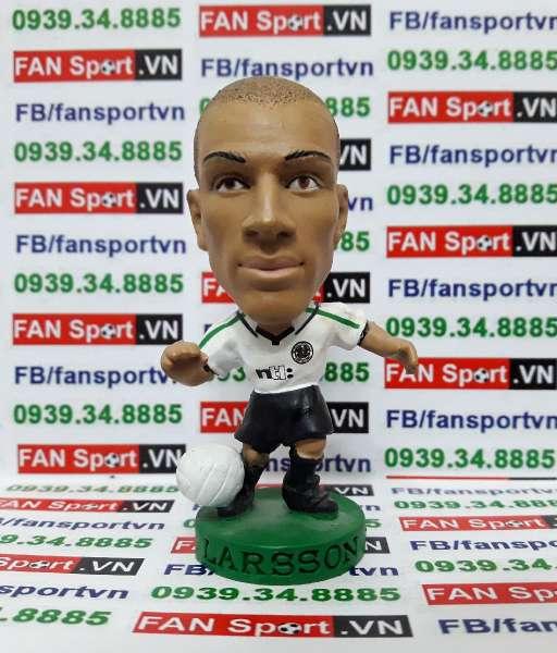 Tượng Henrik Larsson Celtic 2001-2002 away - corinthian PRO707