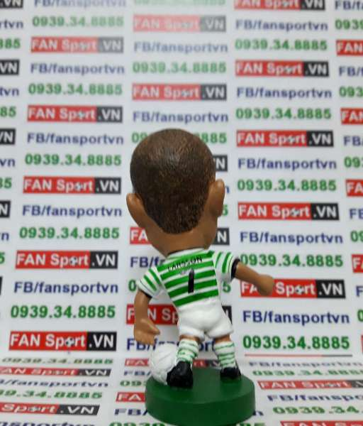 Tượng Henrik Larsson Celtic 2001-2003 home - corinthian PRO776