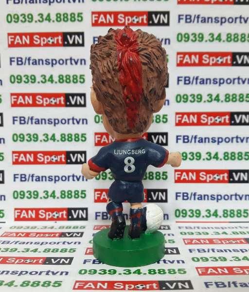 Tượng Freddie Ljungberg Arsenal 2002-2003 away - corinthian PRO678