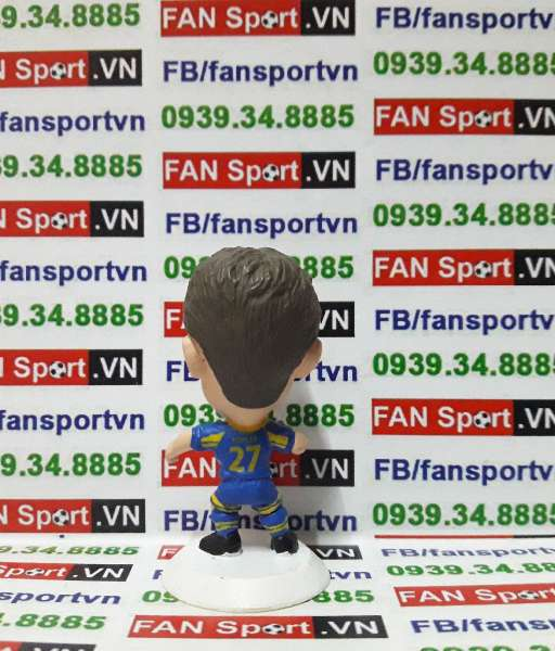 Tượng Robbie Fowler Leeds United 2001-2003 away - microstar MC1212