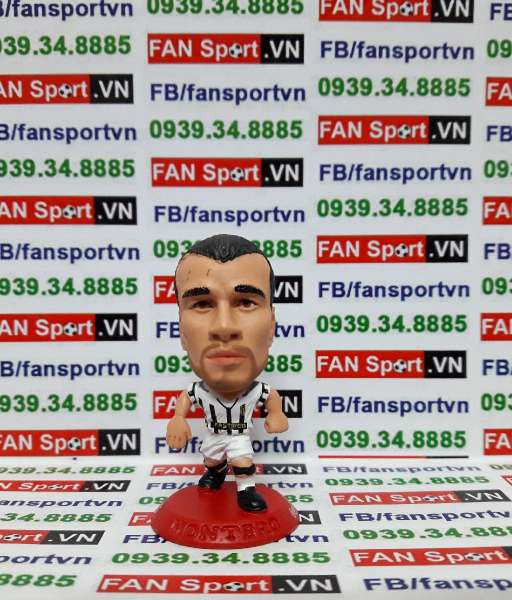 Tượng Paolo Montero Juventus 2001-2002 home - microstars CCWC06