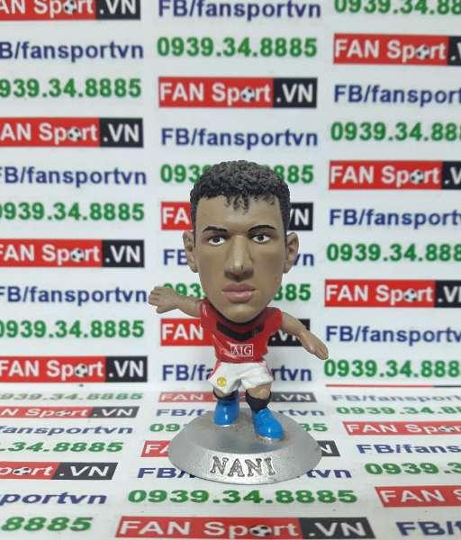 Tượng Luis Nani Manchester United 2009-2010 home soccerstarz MC12679