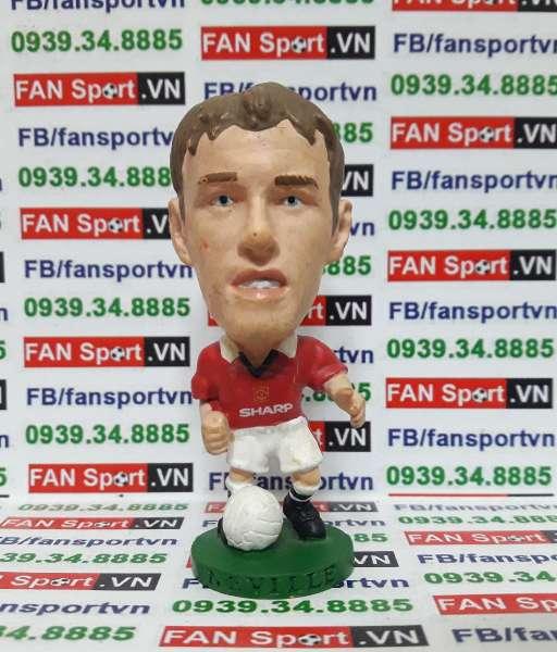 Tượng Philip Neville Manchester United 1996-1998 home corinthian PL501