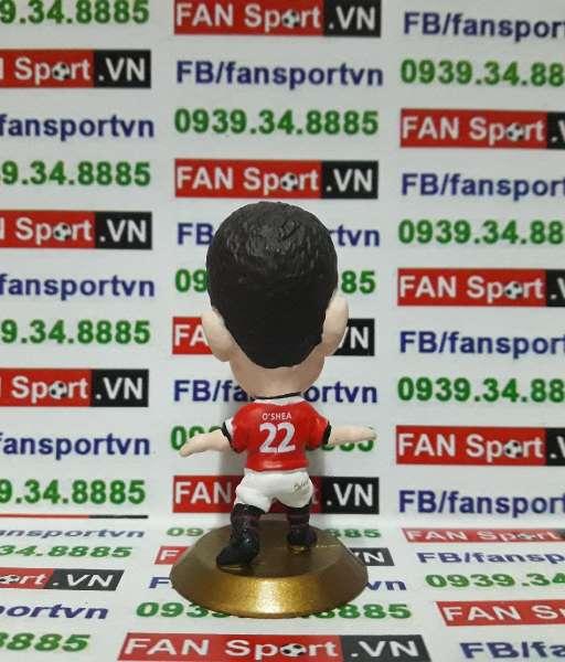 Tượng John O'Shea Manchester United 2004-2006 home - microstars C2967