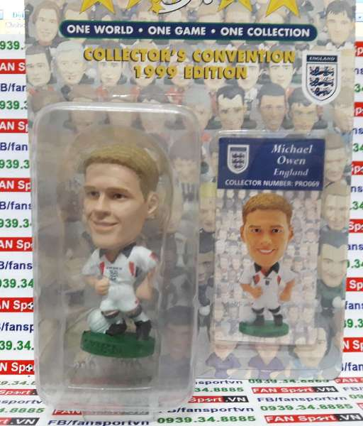 Tượng Michael Owen England 1997-1999 home - corinthian PRO069