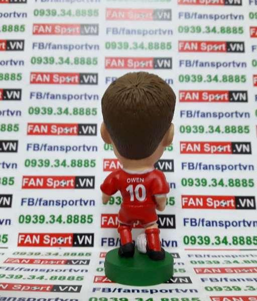Tượng Michael Owen Liverpool 2001-2003 home cup - corinthian PRO616