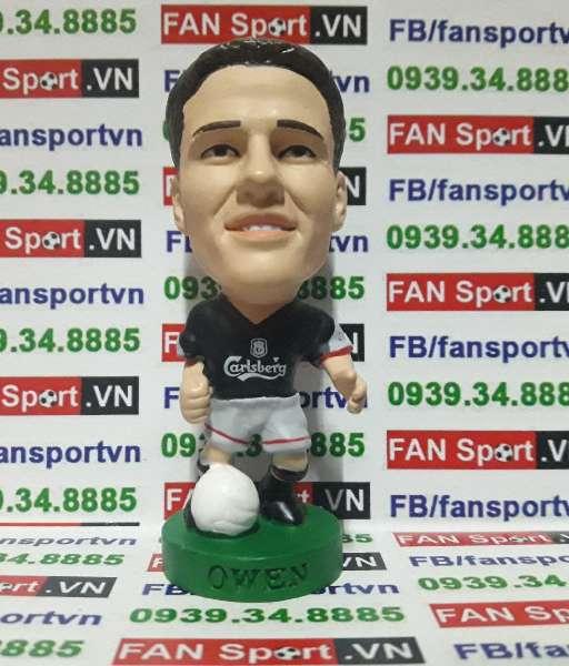 Tượng Michael Owen Liverpool 2002-2003 away - corinthian PRO682