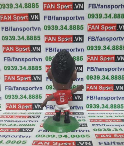 Tượng Paul Pogba Manchester United 2016-2017 home soccerstazr SOC1121
