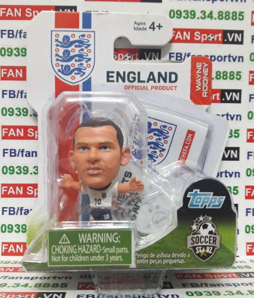 Tượng Wayne Rooney England 2012-2014 home - soccerstarz