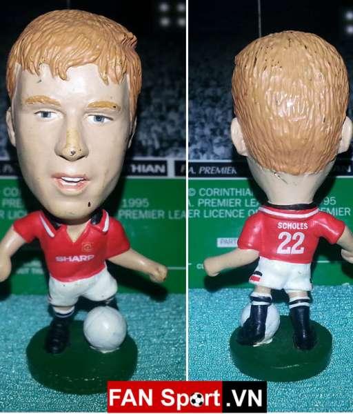 Tượng Paul Scholes Manchester United 1994-1996 home corinthian PL321
