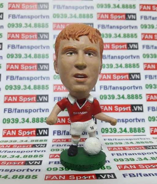 Tượng Paul Scholes Manchester United 1997-2000 home corinthian PRO084