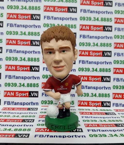 Tượng Paul Scholes Manchester United 2000-2002 home corinthian PRO353