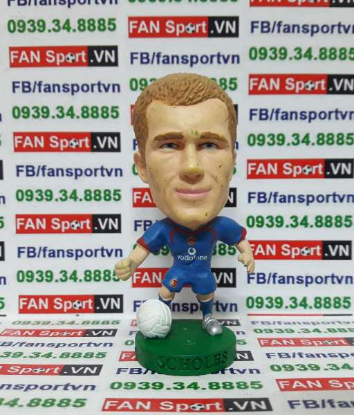 Tượng Paul Scholes Manchester United 2005-2006 away corinthian PRO1277