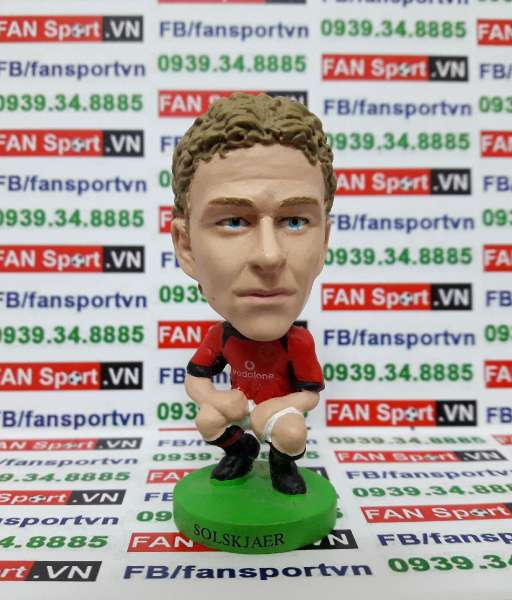 Tượng Ole Gunnar Solskjear Manchester United 2002-2004 home prostars
