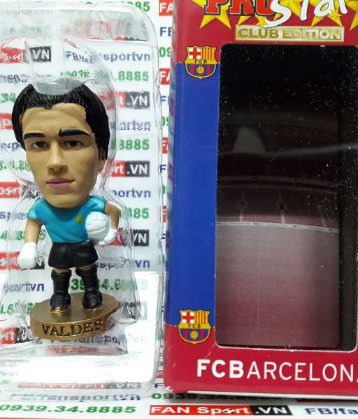 Tượng Victor Valdes Barcelona 2007-2008 away corinthian CG268