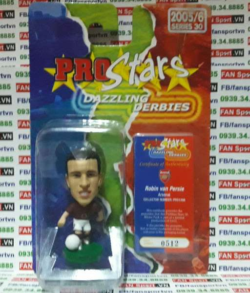 Tượng Robin Van Persie Arsenal 2005-2006 home corinthian PRO1266