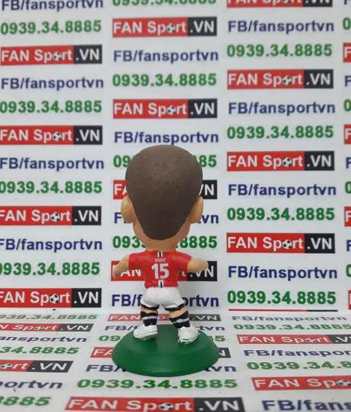 Tượng Nemanja Vidic Manchester United 2007 - 2009 soccerstarz MC11559