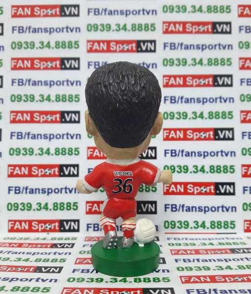 Tượng Mark Viduka Middlesbrough 2004-2005 home corinthian PR044