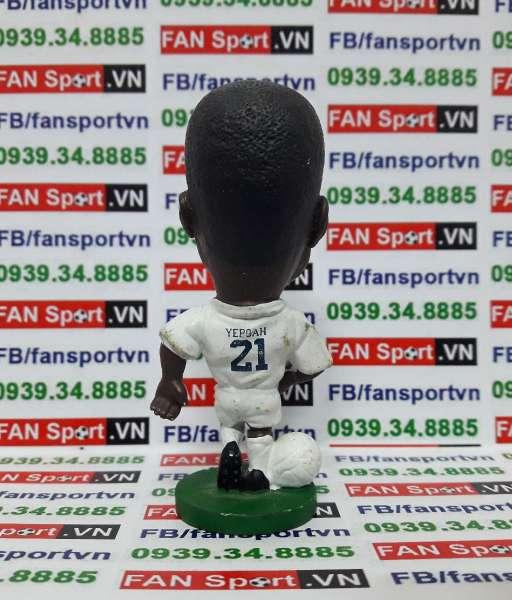 Tượng Tony Yeboah Leeds United 1995-1996 home corinthian PL05