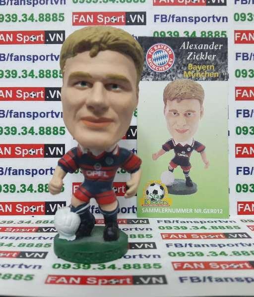 Tượng Alexander Zickler Bayern Munich 1997-1998 home corinthian GER012