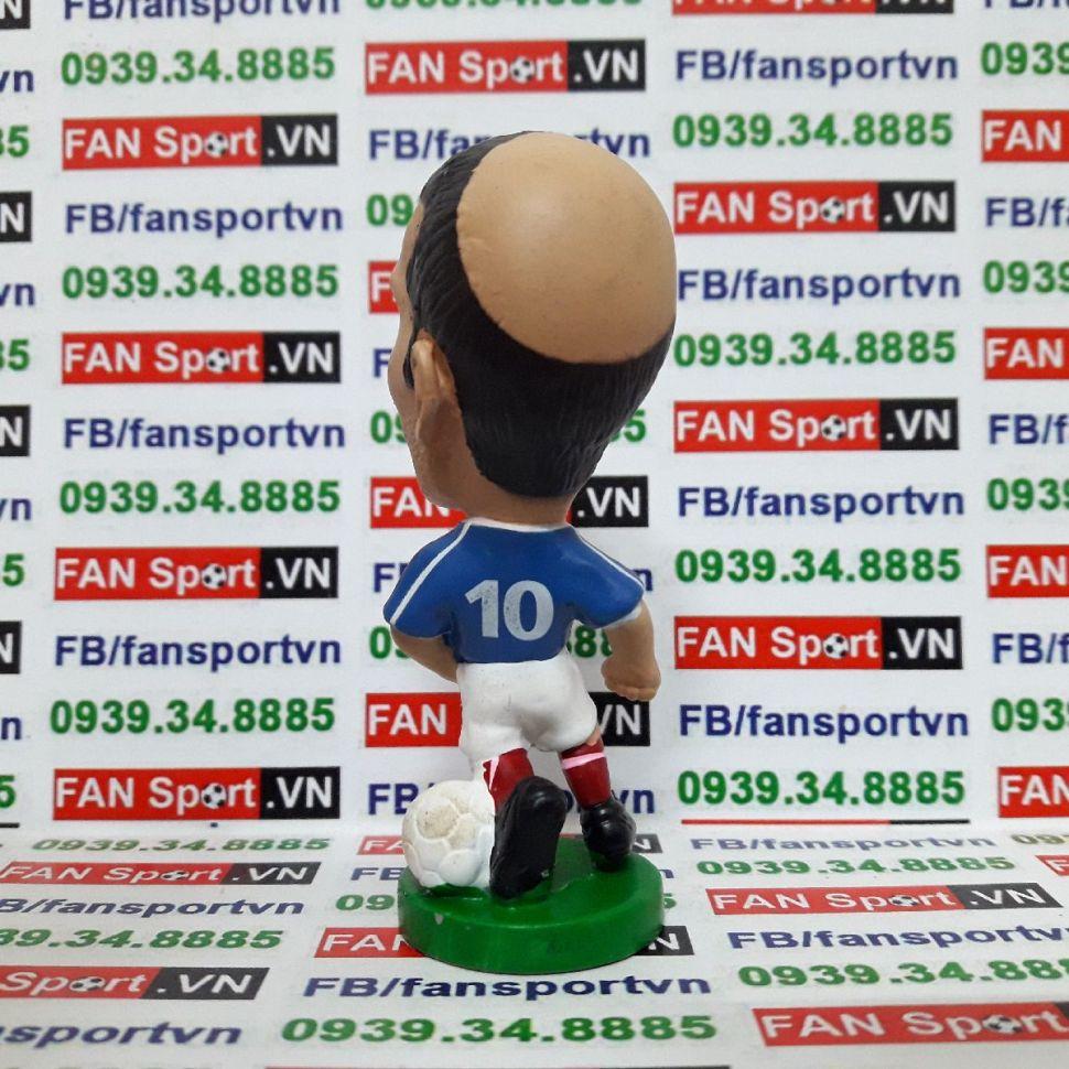 Tượng Zinedine Zidane France 2000-2002 home pocket sport