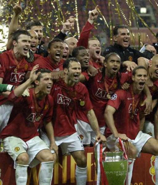 2008 Huy chương Champion League Winners 2008 Manchester United medal