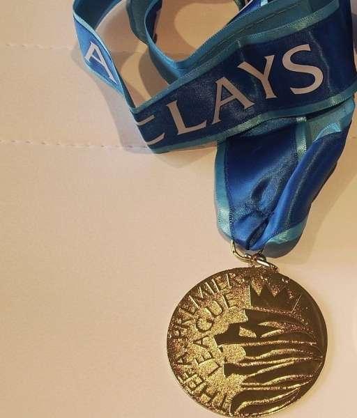 Huy chương vô địch Premier League 2013-2014 Manchester City medal