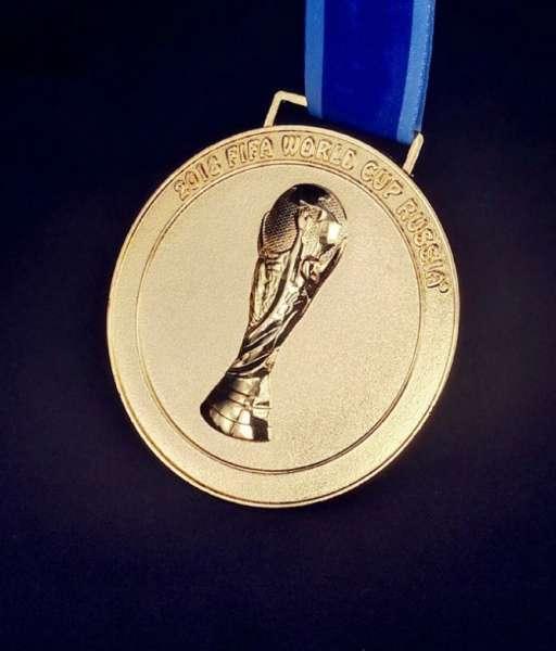 Huy chương vô địch World Cup Russia 2018 France